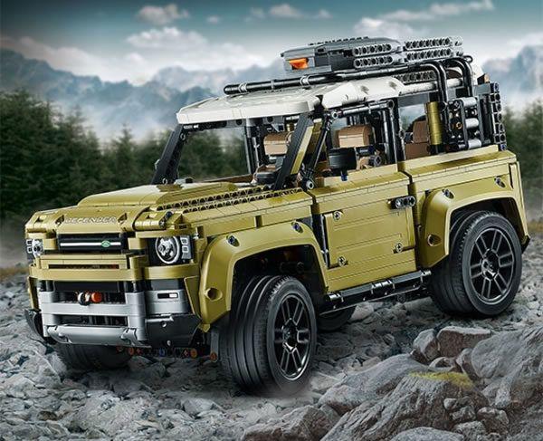 Lego Technic : Le nouveau Land Rover Defender bientôt disponible