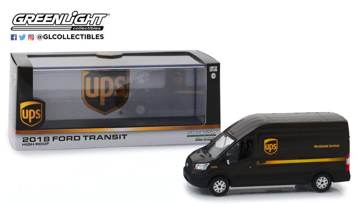 1/43 : Un inédit Ford Transit aux couleurs d'UPS