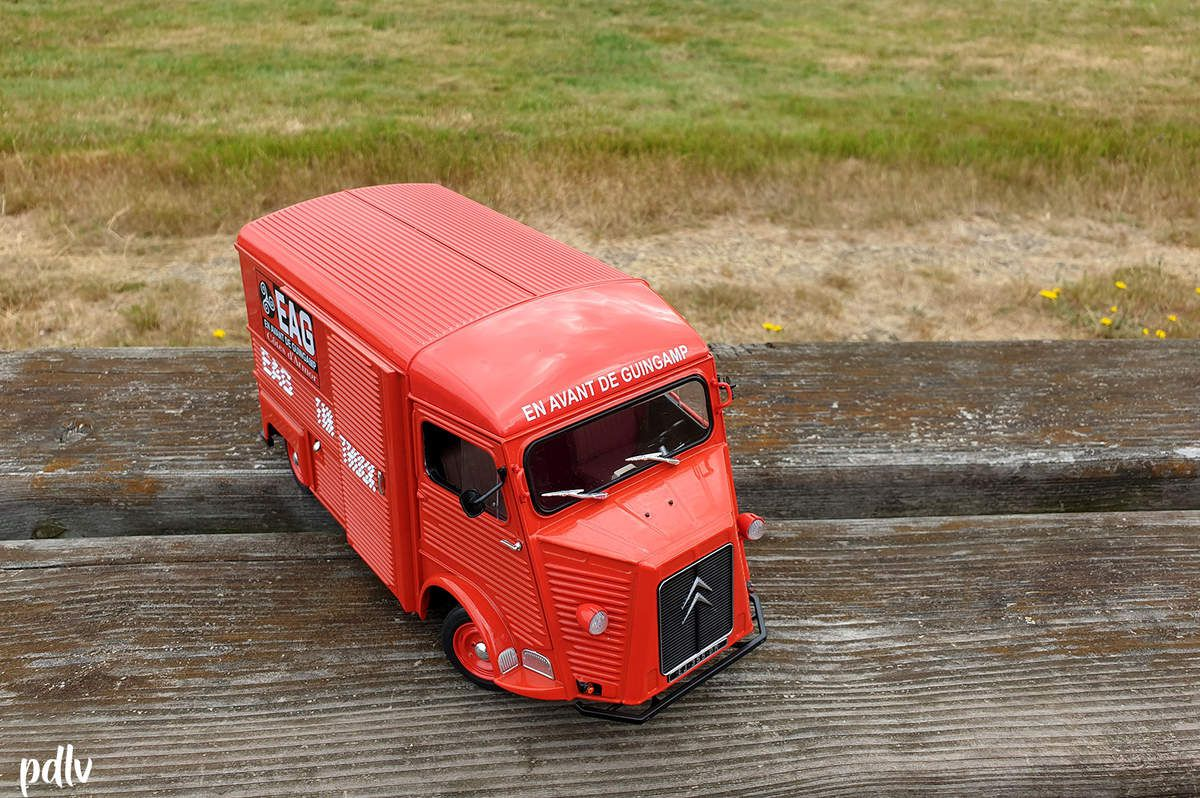 1/18 Citroën Type HY Fan Truck EAG, Solido (S1850030)