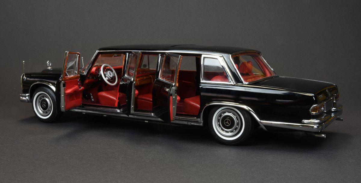 1/18 : La Mercedes 600 Pullman de CMC est à vous pour 759 €