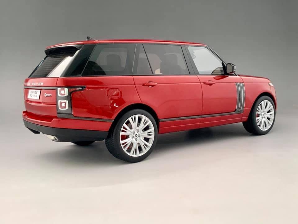 1/18 : MotorHelix prépare le Range Rover 2019