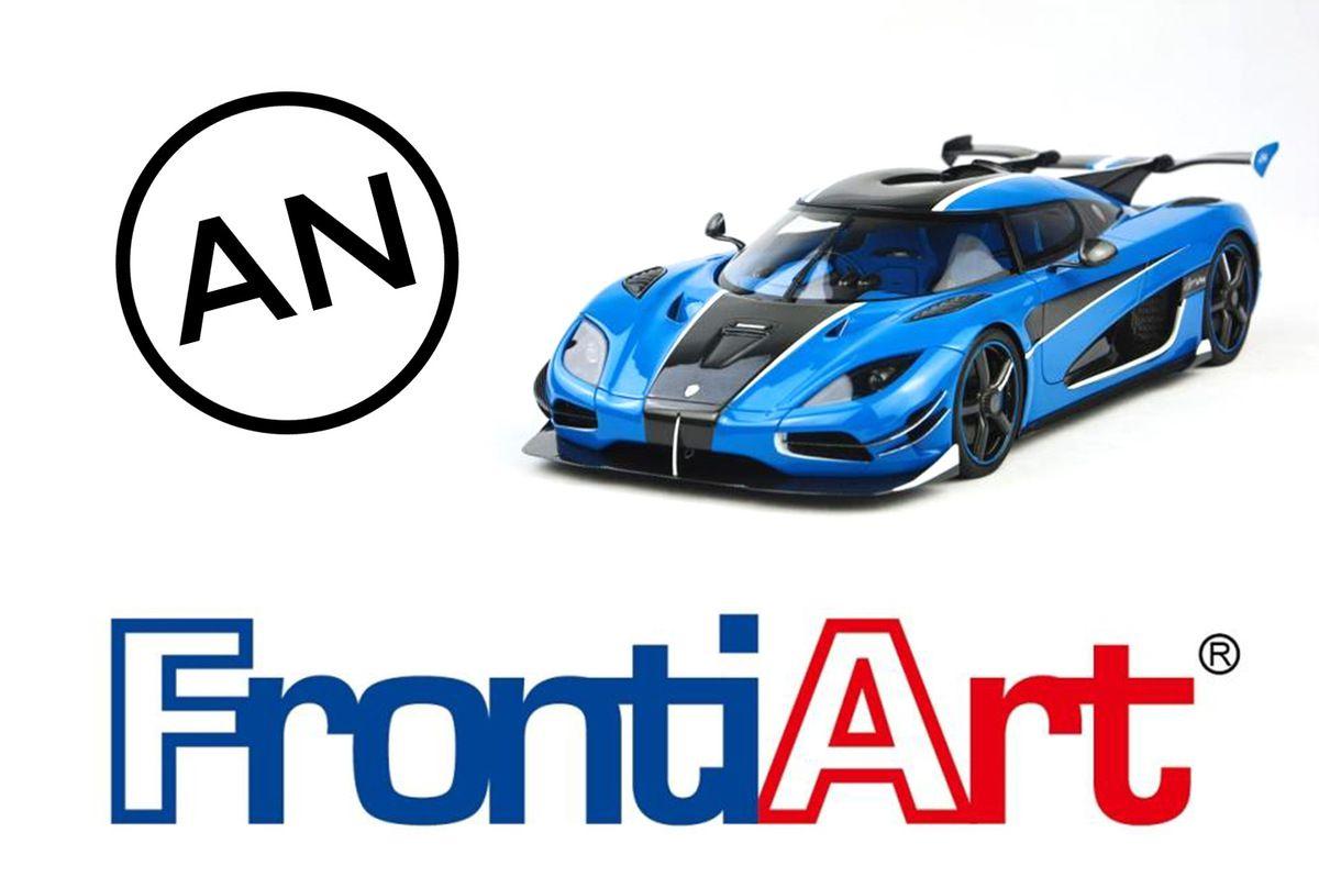 AN Model Cars distribue désormais les modèles FrontiArt