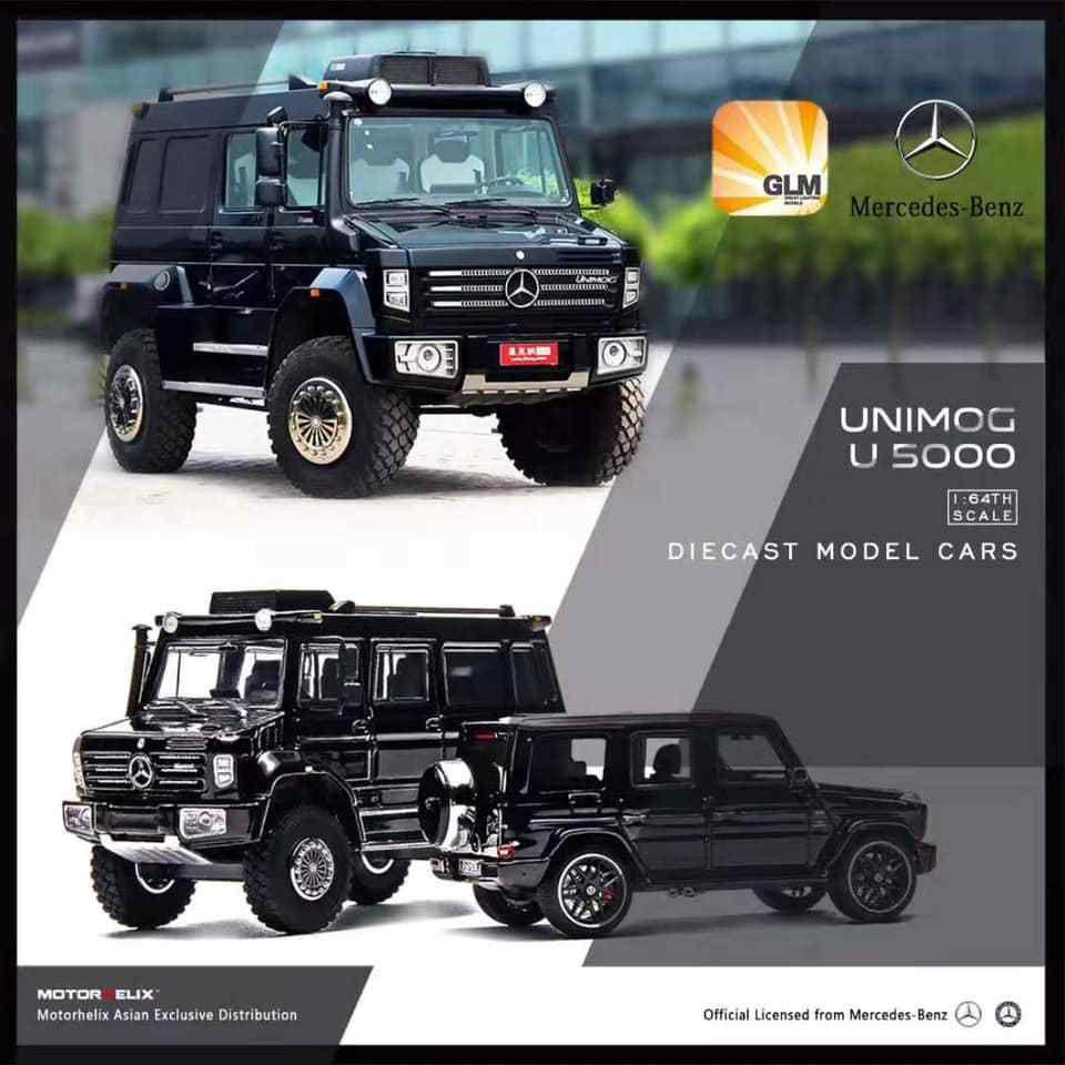 1/18 : L'énorme Mercedes Unimog U 5000 arrive en miniature