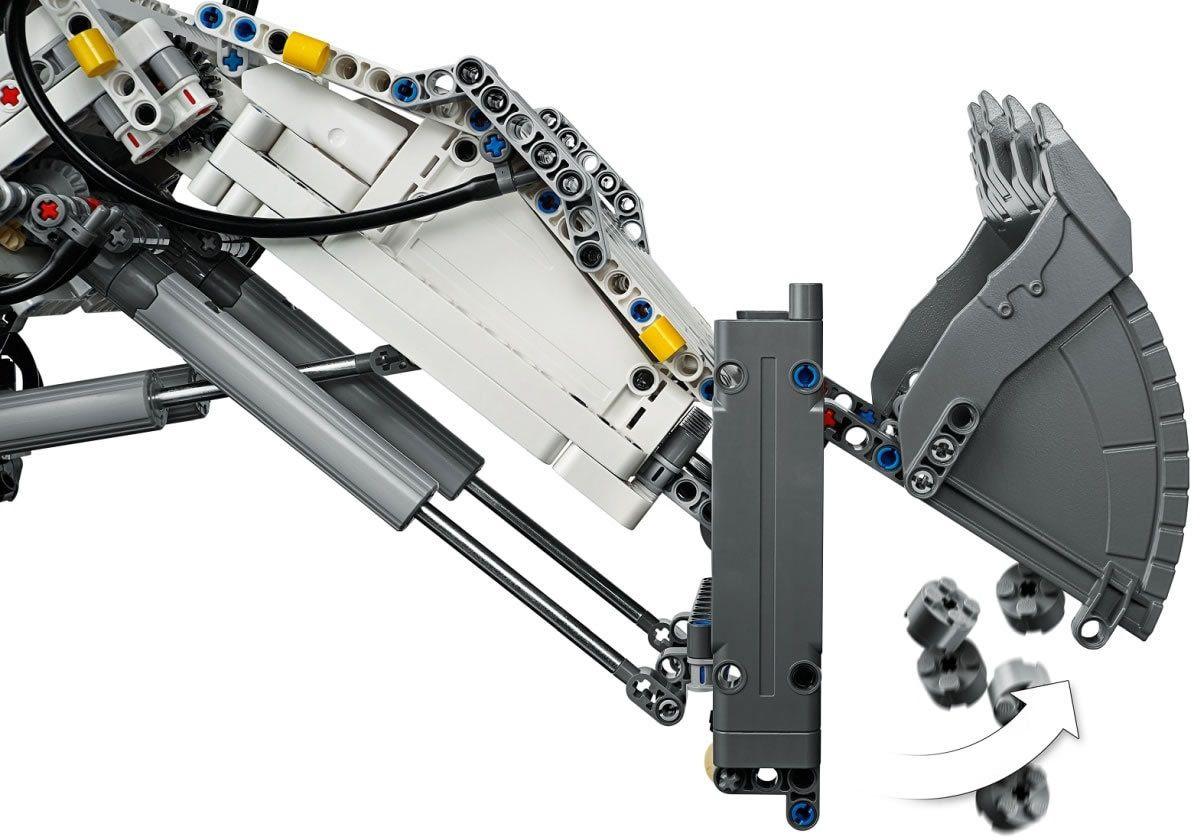 Lego Technic : la Liebherr R 9800 Excavator arrive bientôt