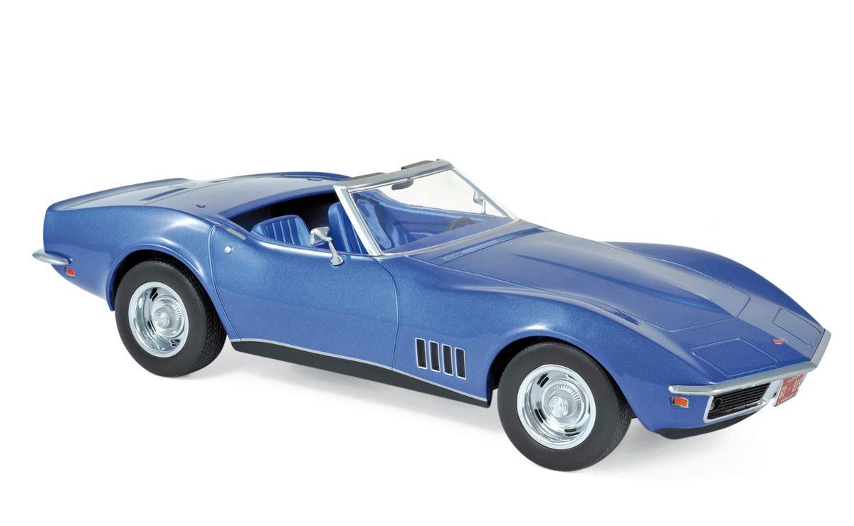 1/18 : Norev dévoile une élégante Corvette C3 convertible