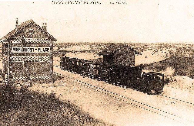 "Chemin de fer : ""Ici, Merlimont Plage !"""