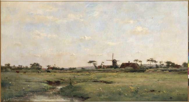 Le moulin de Merlimont de Pierre-Emmanuel Damoye (le moulin Boulanger)
