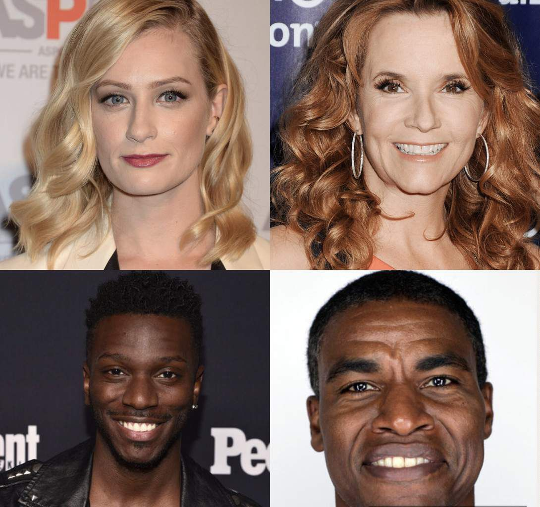 Beth Behrs (2 broke girls), Lea Thompson (Switched), Bernard David jones (The Mayor) et Charles Parnell (The last ship).