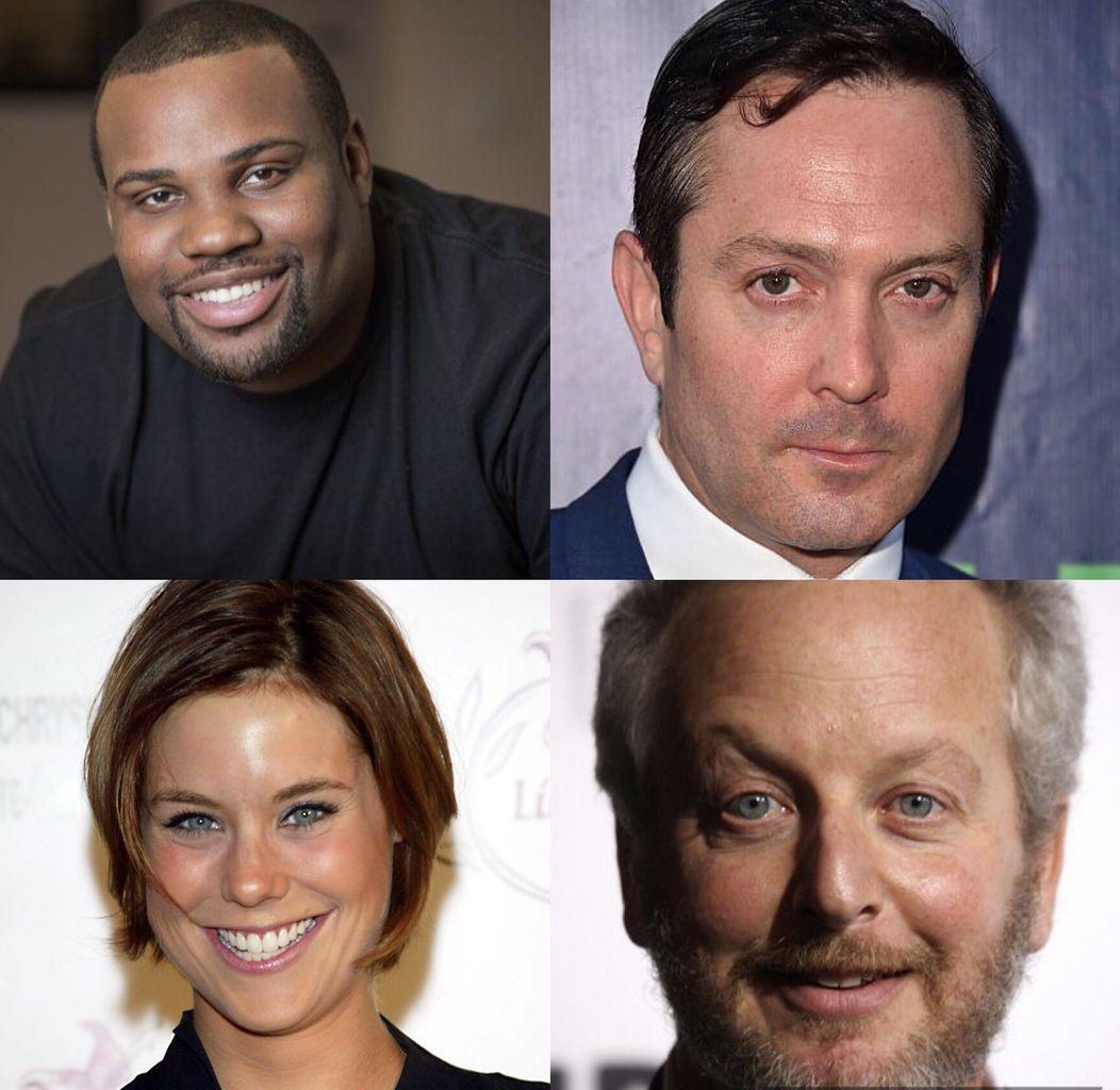 James Earl (Scream Queens), Thomas Lennon (L'arme fatale), Ashley Williams (How i met your mother) et Daniel Stern.