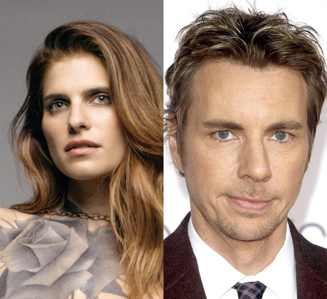 Lake Bell (We hot american summer : 10 years later) et Dax Shepard (We hot american summer : 10 years later).