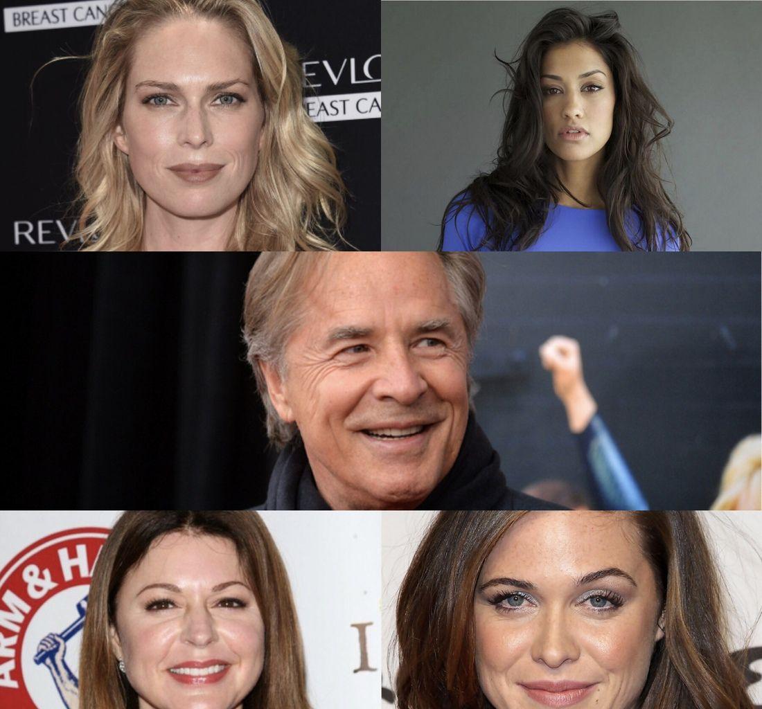 Erin Foster, Janina Gavankar (True Blood), Don Johnson (Une nuit en enfer), Jane Leeves et Christine Woods (Walking dead).