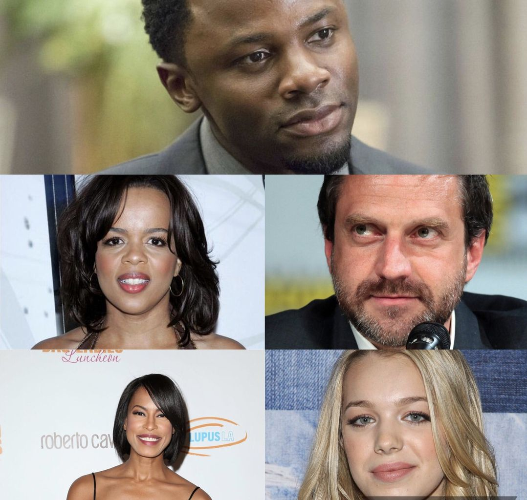Derek Luke (13 reasons what), Paula Newsome, Raul Esparza (Hannibal), Kearran Giovanni et Sadie Calvano (Mom).
