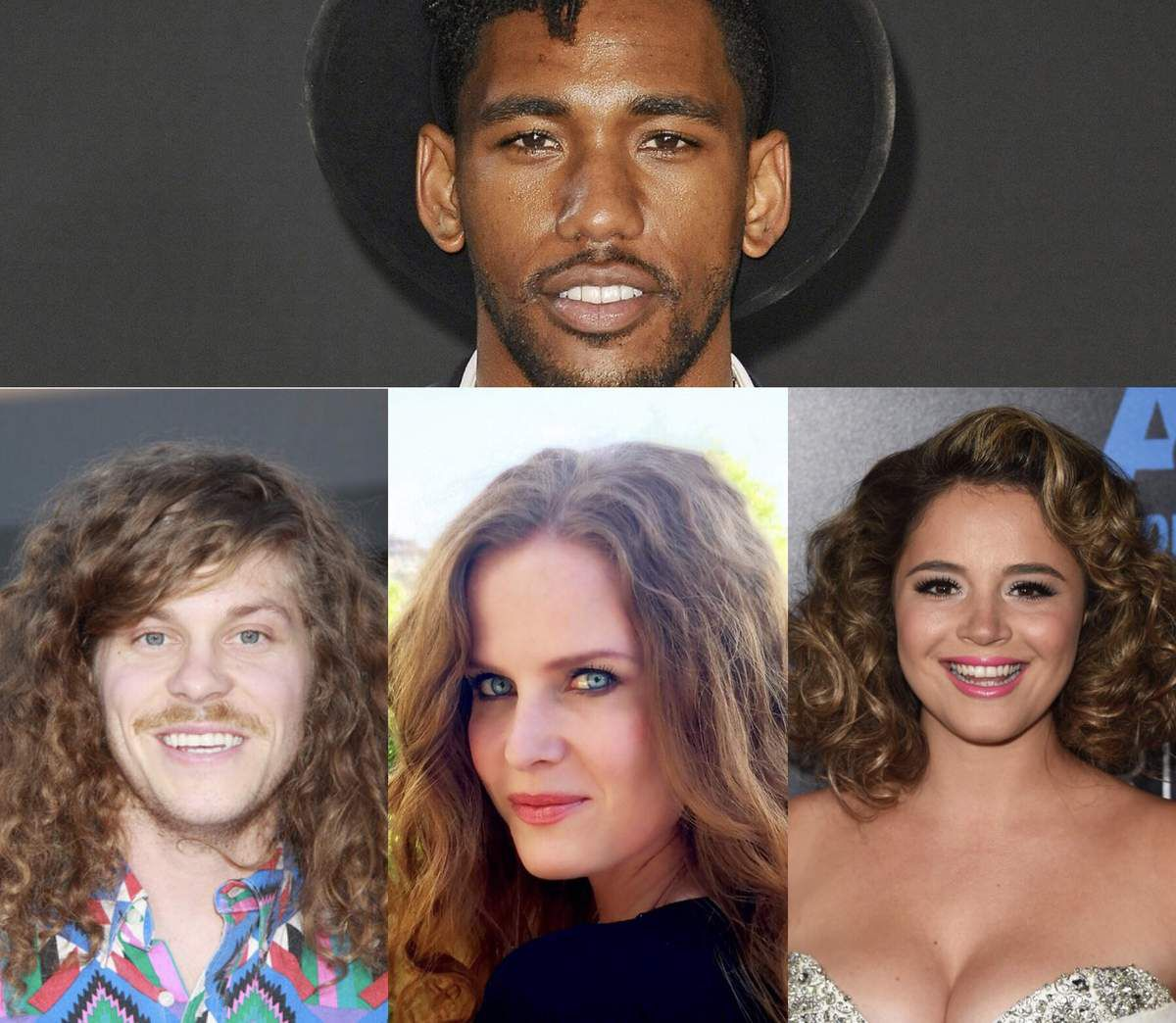 Brandon Mychal Smith, Blake Anderson, Kether Donohue (you're the worst) et Rebecca Mader (Once upon a Time).