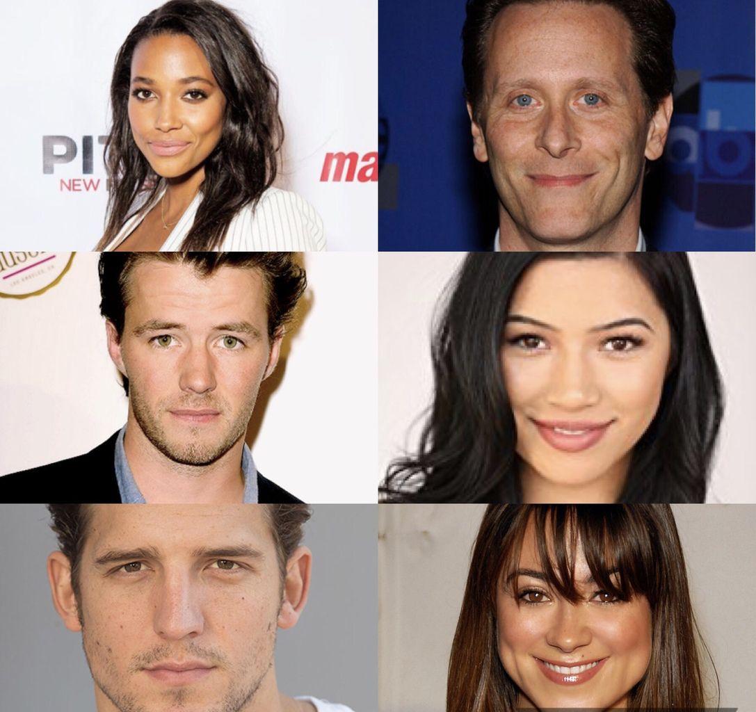 Kylie Bunbury (Pitch), Steven Weber (NCIS : NO), Thomas Cocquerel, Julia Kelly, Shea Buckner et Camille Guaty (Daytime divas).