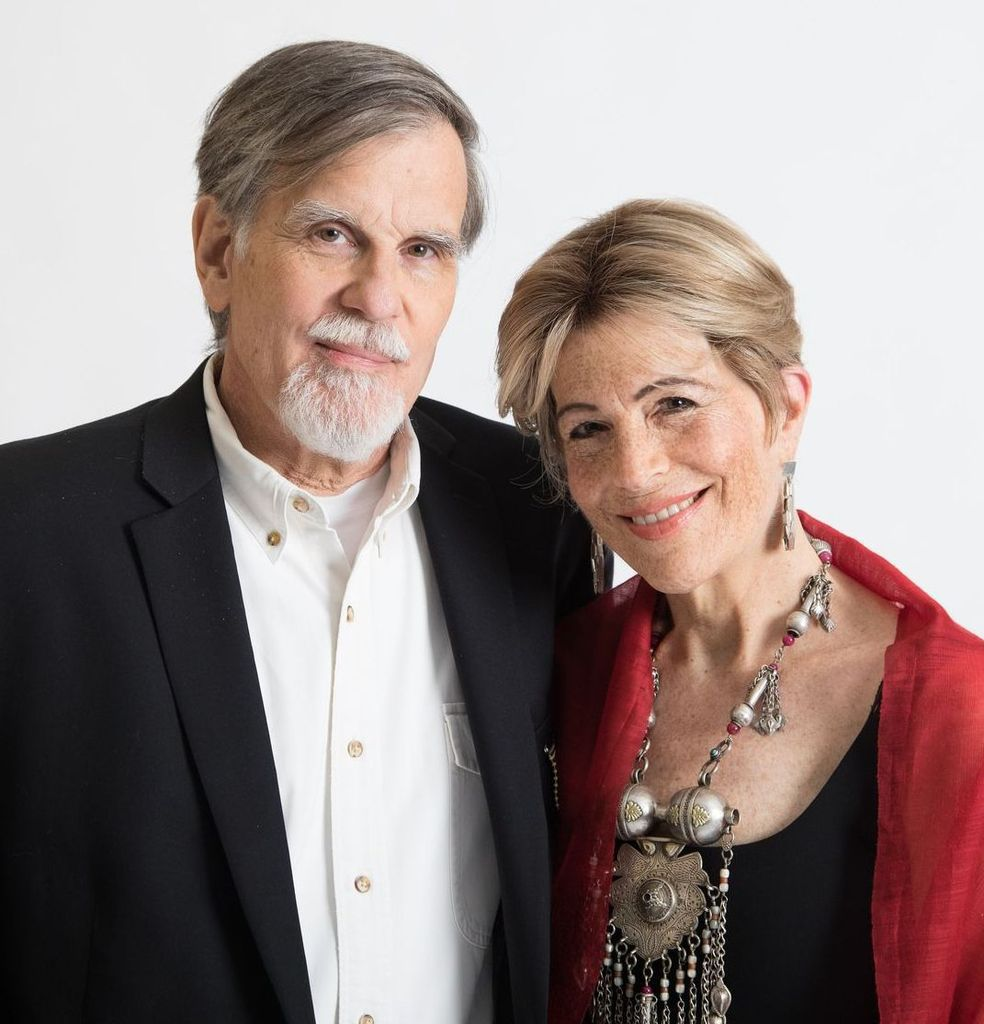 """Allen F. Roberts and Mary """"Polly"""" Nooter Roberts, August 2017, with permission."""