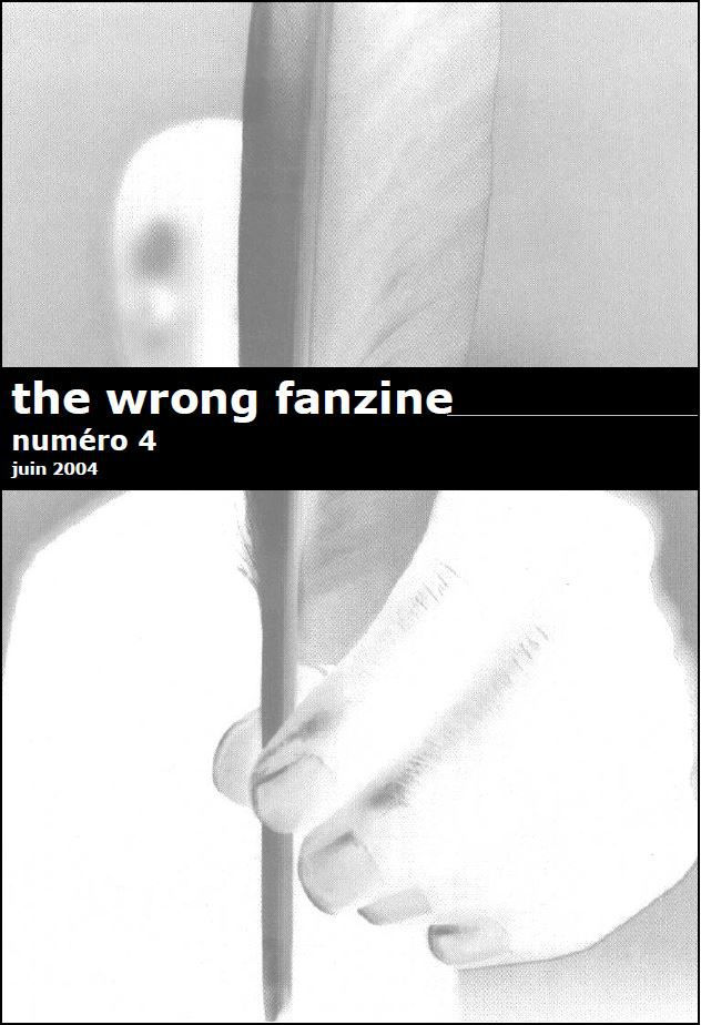 The wrong fanzine hiphop n°4 (gratuit)