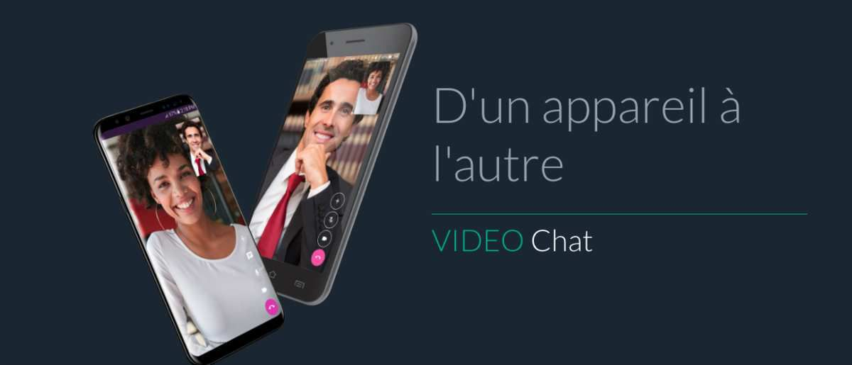Video Chat Talk Fusion - D'un appareil à l'autre...