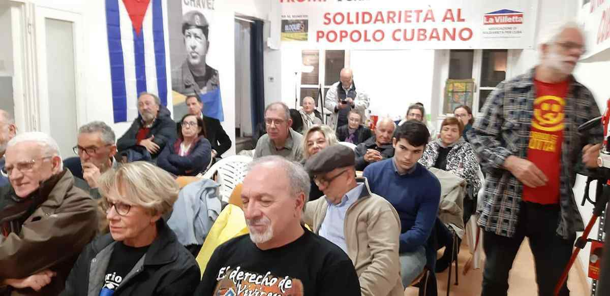 Contro l' Imperialismo: solidarietà a Cuba e a tutta l' America Latina