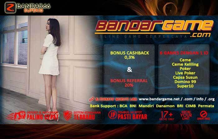 BandarGame Judi Super10 Online Indonesia