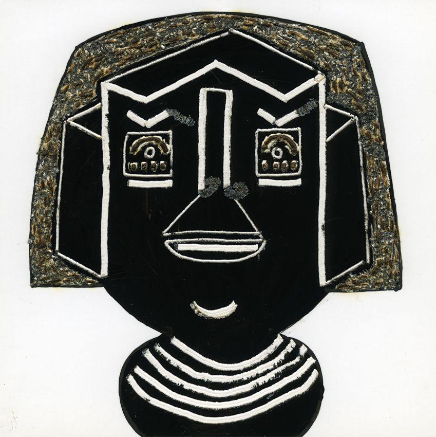 encre de chine pyrogravée sur papier (10x10cm)