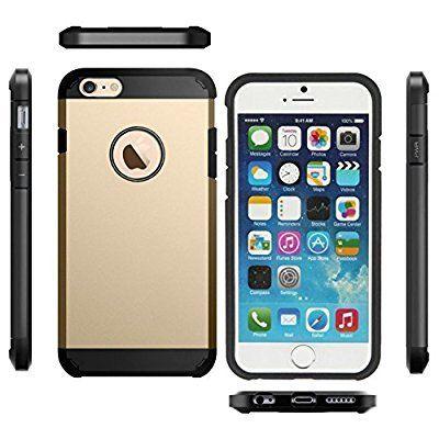 Coque iPhone 6. or Rigide solide anti