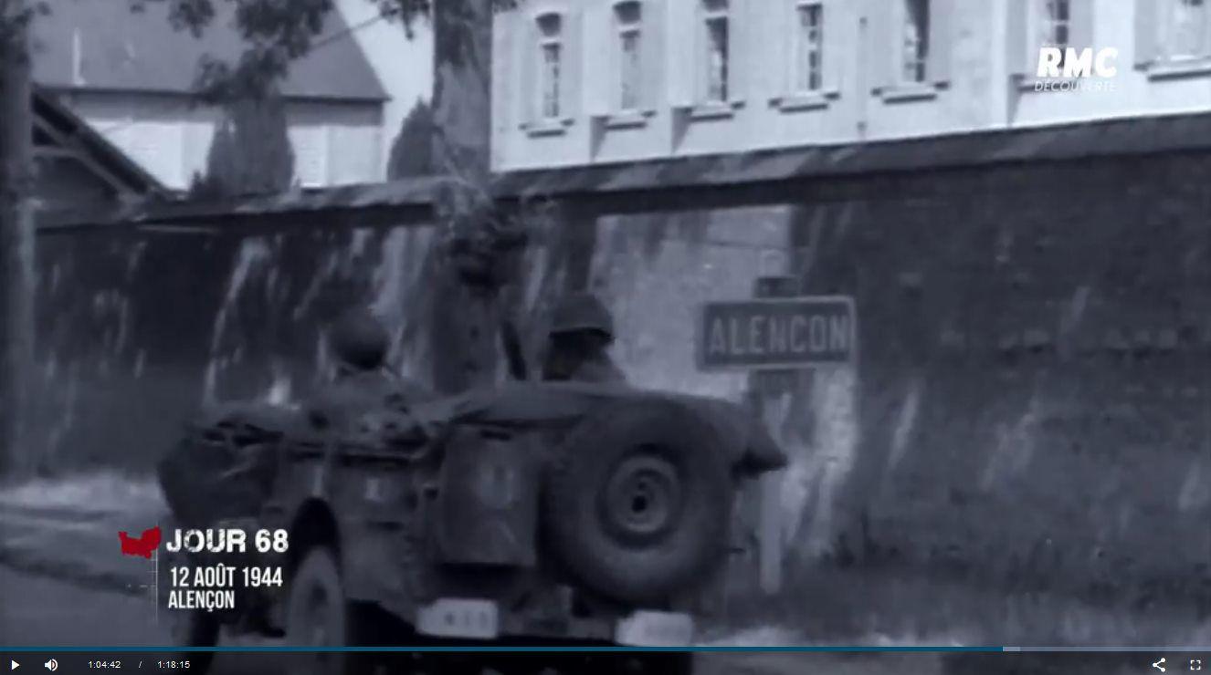 L'Enfer de la Bataille de Normandie : séquence alençonnaise
