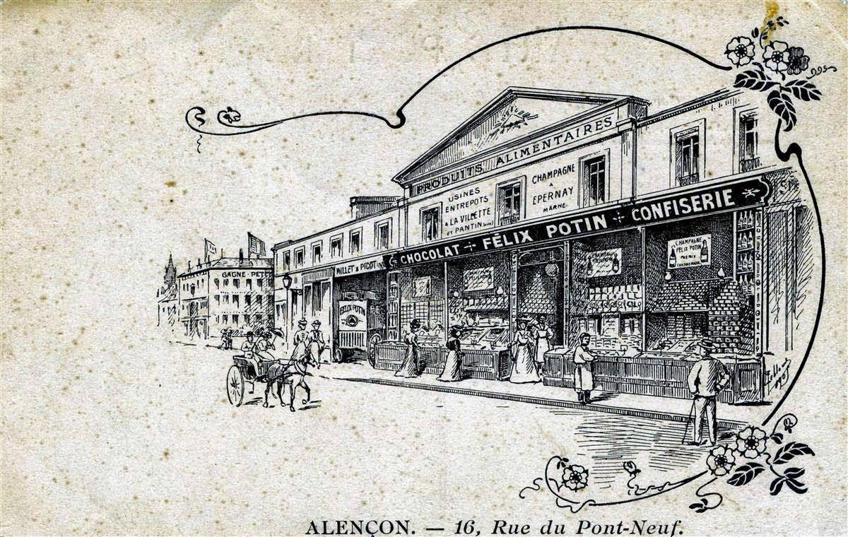 Les grands magasins d'Alençon : Félix Potin (3)