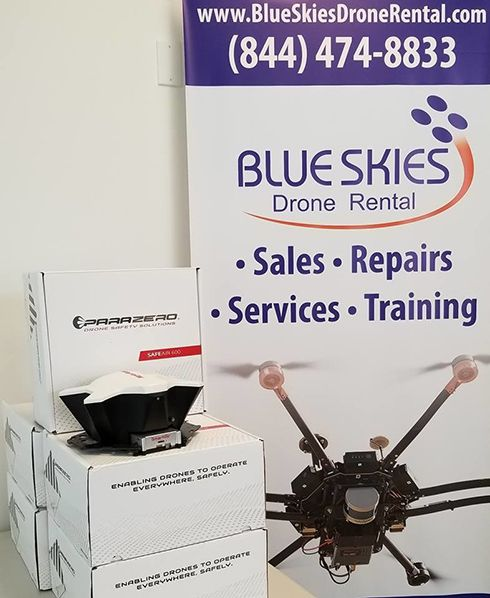 Blue Skies Drone Rental, LLC and ParaZero Ltd. announce strategic partnership for US based distribution of ParaZero SafeAir parachute systems