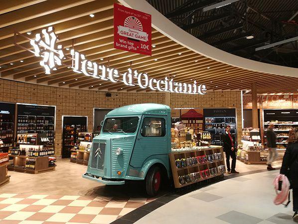 terre occitanie aeroport toulouse blagnac duty free