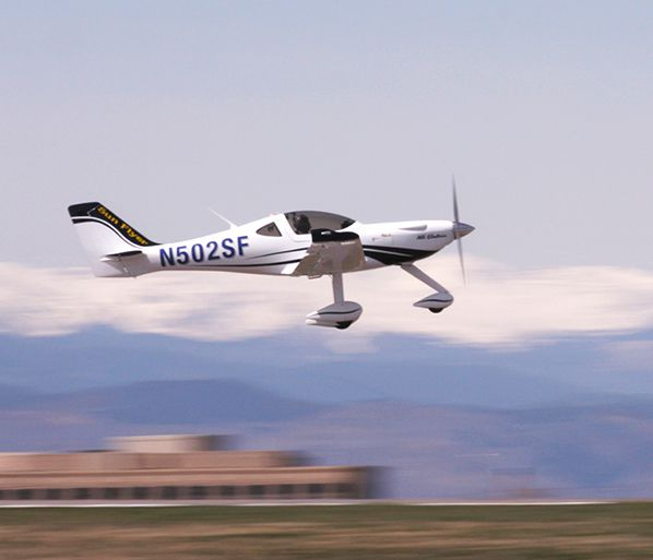 Sun Flyer prototype