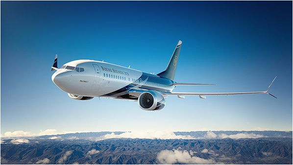 Boeing Business Jets  bbj max