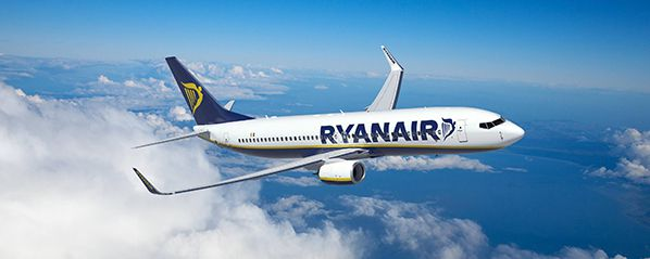 ryanair low cost airline boeing 737