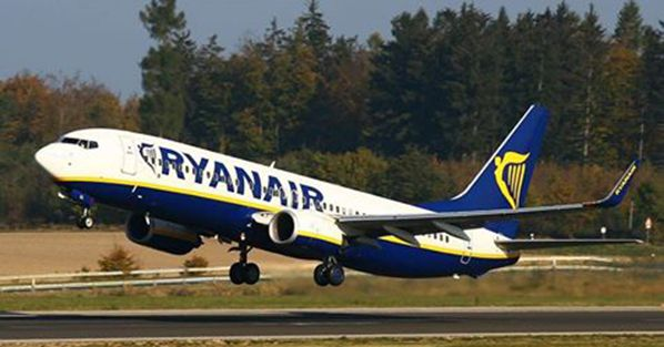 boeing 737 ryanair decollage