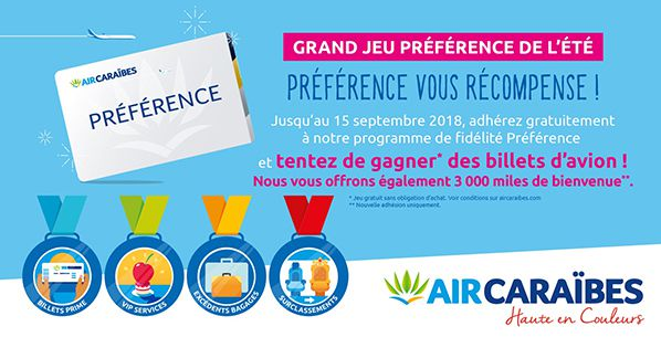 concours preference air caraibes