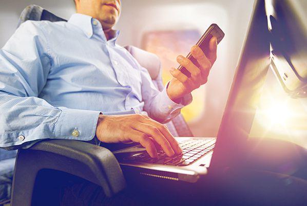 Inflight Wi-Fi - Shutterstock