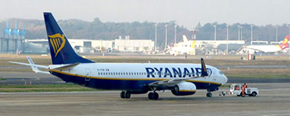 ryanair paris vatry fes