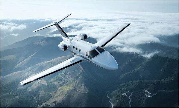 Cessna Citation mustang inflight privatefly