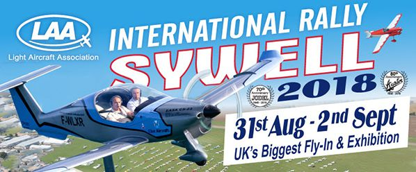 light aircraft association rally sywell uk exhibition