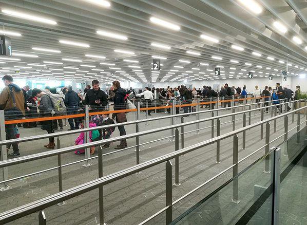 zone surete filtrage aeroport toulouse blagnac