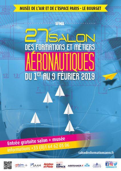affiche salon formation metiers aeronautiques