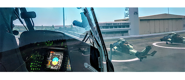 Helicopters Simulation Center of the Spanish Army  indra
