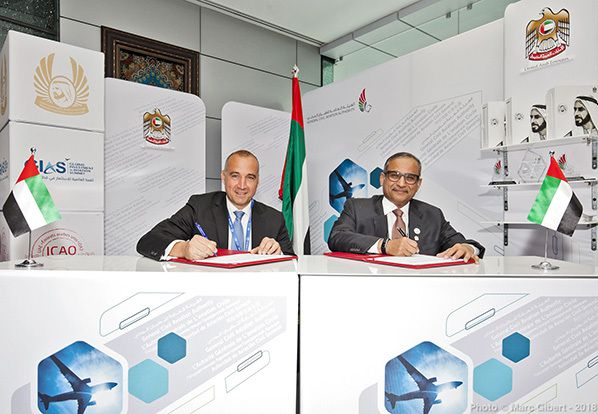 UAE signature at OACI © Photo Marc Gibert / adecom.ca