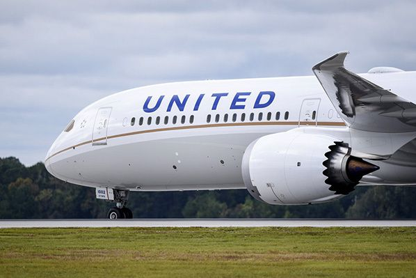 united boeing dreamliner 787