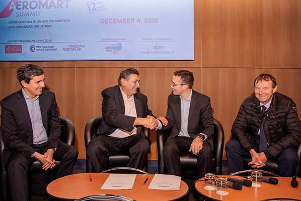 AIRBUS Developpement SAFETYN siganture convention Aeromart