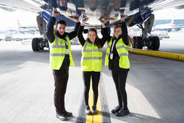 British Airways Work Experience Students
