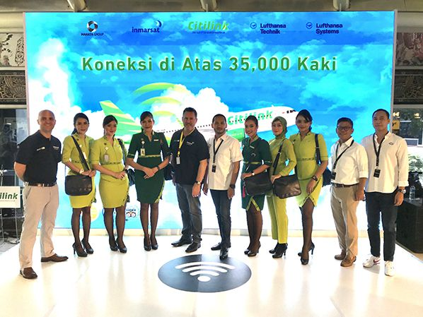 Inmarsat Citilink GX Aviation Go Live