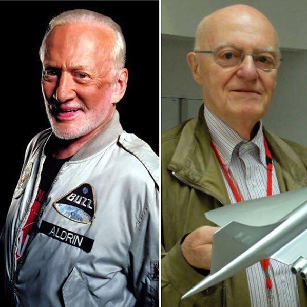 Buzz Aldrin ©Christina Korp - Jean Pinet