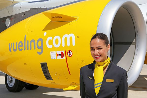 Vueling A321- hotesse vueling