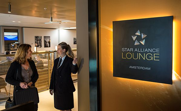 star alliance lounge amsterdam