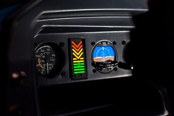 elixir aircraft indicateur incidence tableau de bord